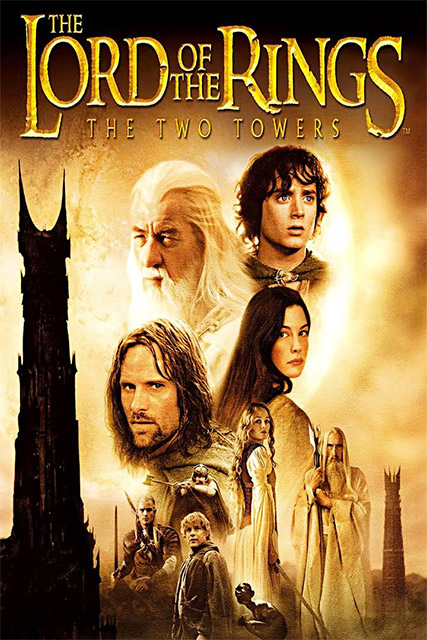 The Lord of The Ring the two tower Poster