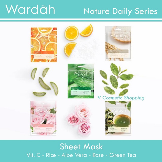 sheet mask wardah