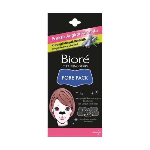 Biore Cleansing Strips Pore Pack