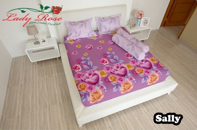 merek bedding lady rose
