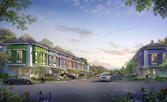 cluster thomson serpong
