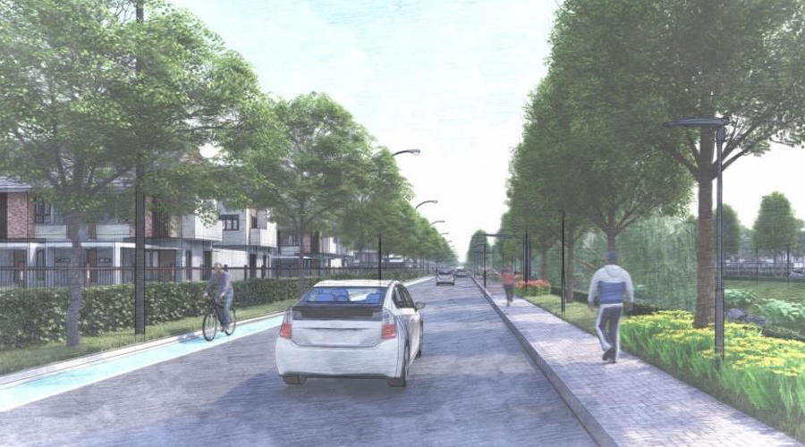 Cycling and Jogging Track