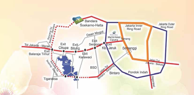 Peta Lokasi Belle Feur Citra Raya