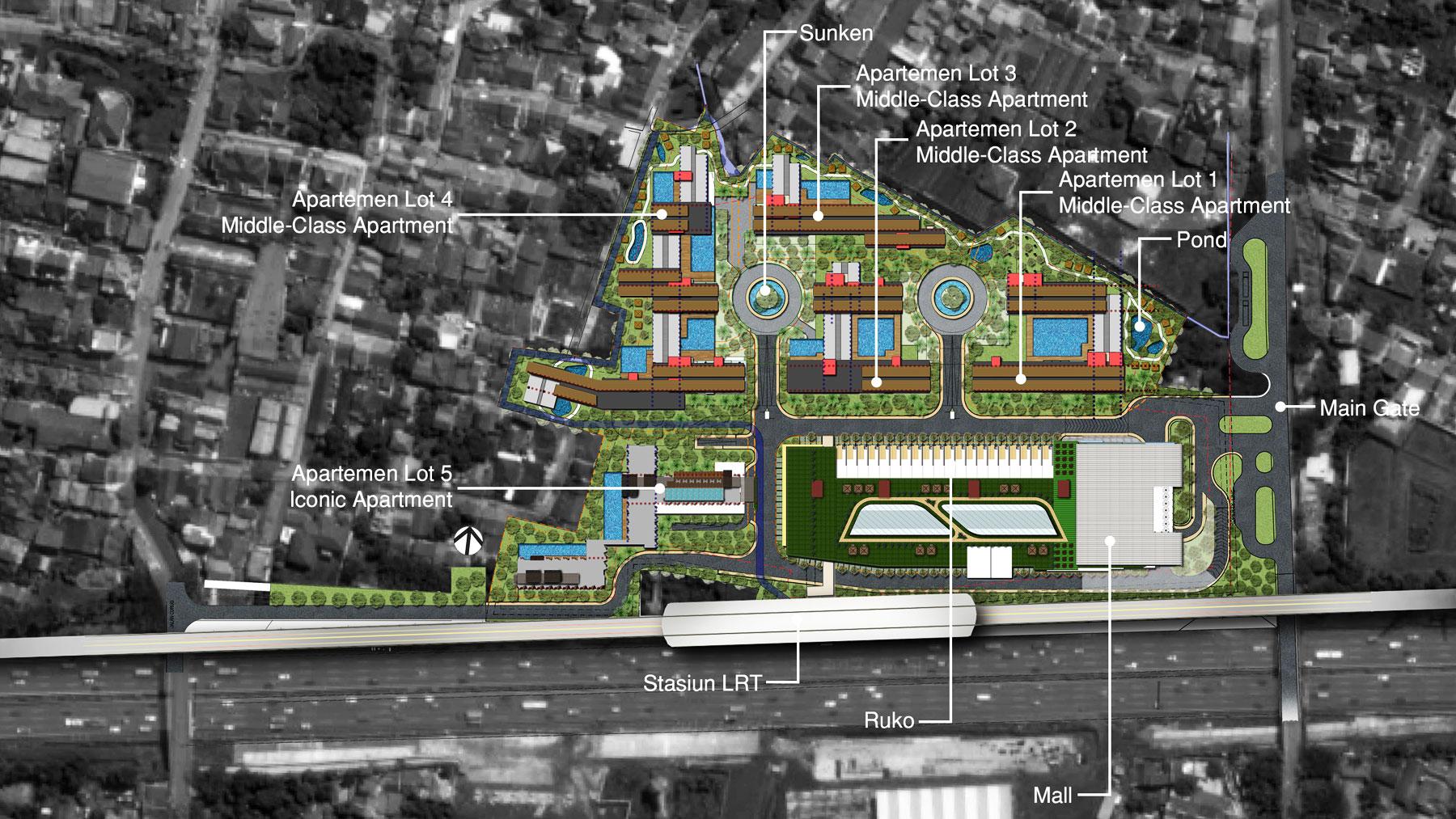 Lrt City Gateway 99 Co Indonesia