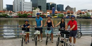 Group outing with Lets Go Bike Singapore