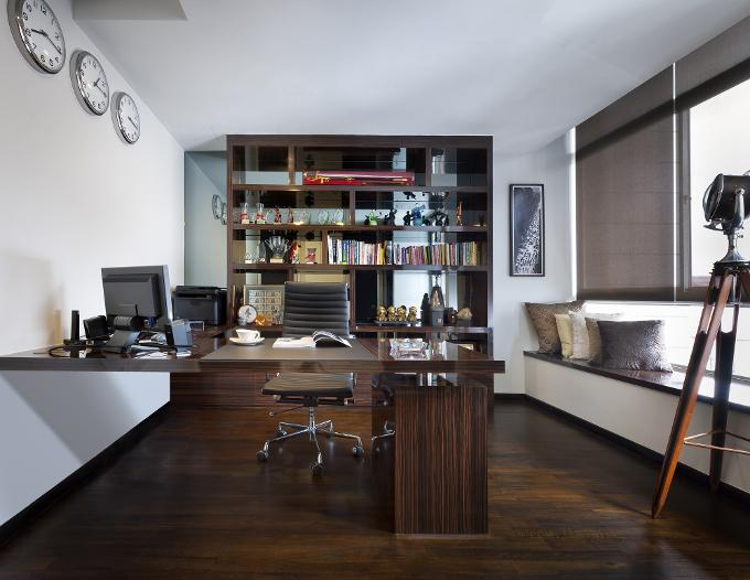 Cromly 6 SG Home Offices 6 Singaporean Home Offices Chuan Hoe Ave By Space  Vision Design