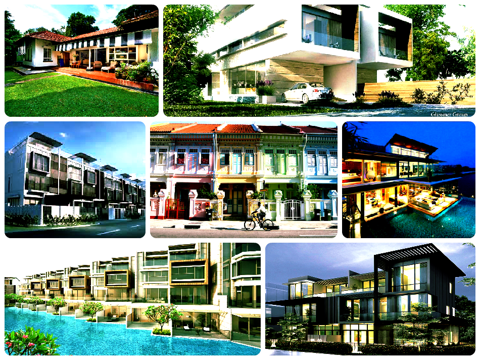 Housing types in singapore a general guide for Different types of houses