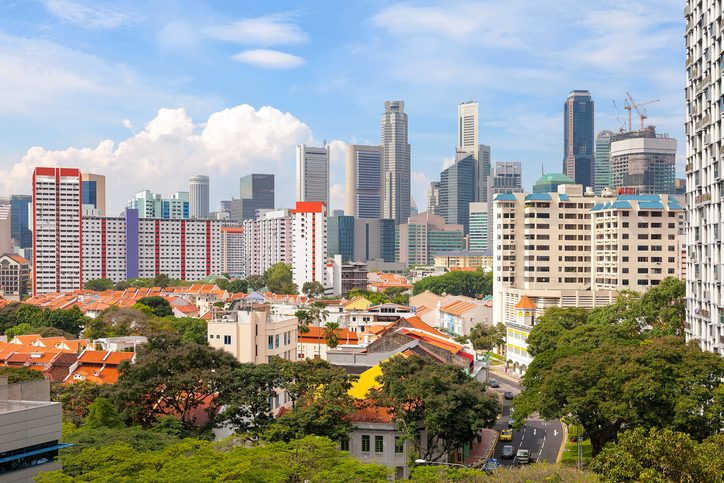 Singapore Housing with City View for homebuyers