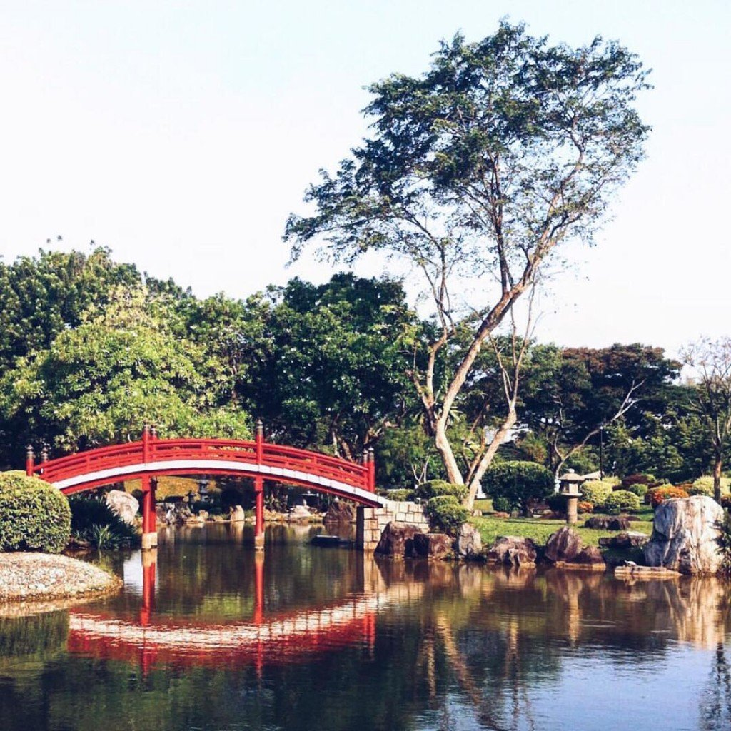 The Japanese Garden also known as Seiwaen is one ofhellip