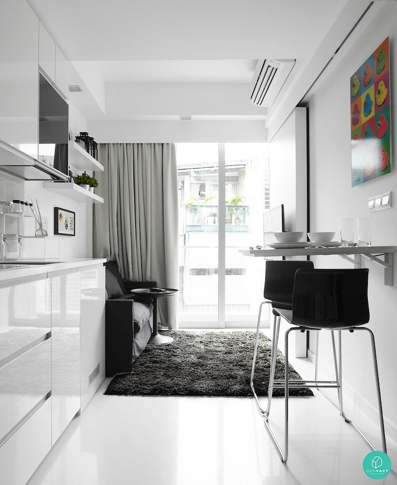 Smart designs for small spaces in singapore homes for House design for small spaces