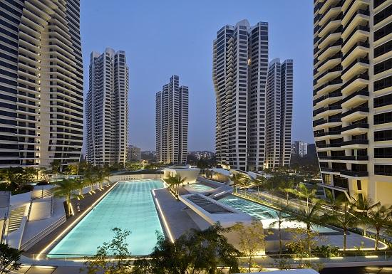 Singapore Holland neighbourhood residential d'leedon zaha hadid
