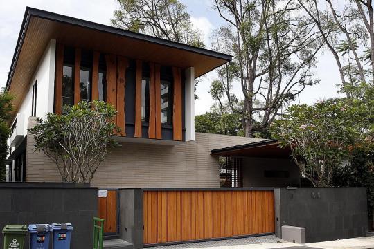 Singapore Holland neighbourhood residential homes Straits Times photo