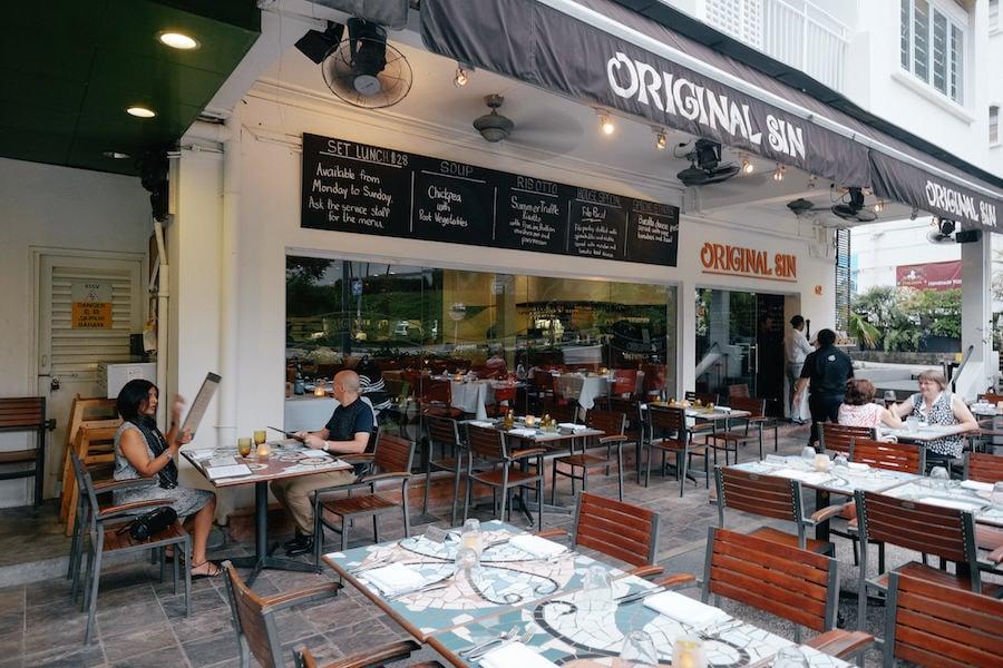 Singapore Holland Village neighbourhood restaurants original sin