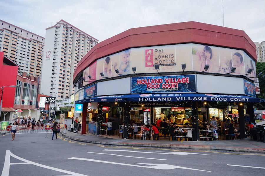 Singapore Holland Village neighbourhood restaurants