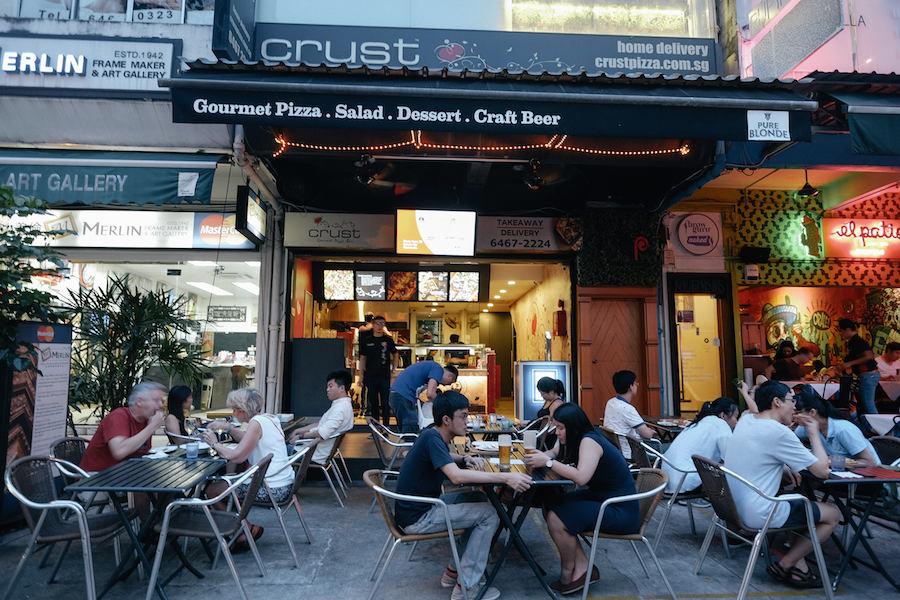 singapore Holland Village neighbourhood restaurants crust