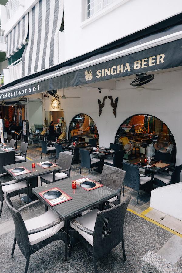 Singapore Holland Village holland road neighbourhood mai thai restaurant