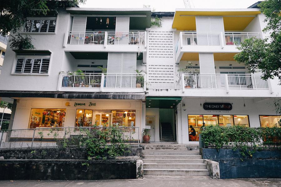Singapore Holland Village chip bee gardens neighbourhood residential restaurants