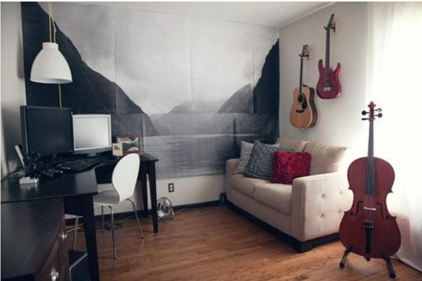 Diy Wall Murals 11 different ways to dress up generic walls