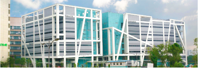 Picture of Biopolis: Singapore's Largest Biomedical Research Hub. Credit: JTC