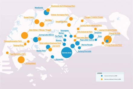Commercial hubs singapore