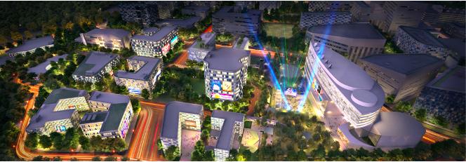 Picture of Managing Singapore's Media Landscape, Mediapolis. Credit: JTC