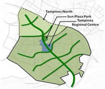 tampines north site map