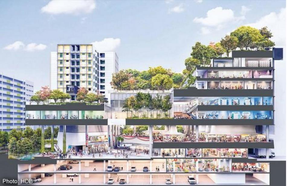 Kampung Admiralty development