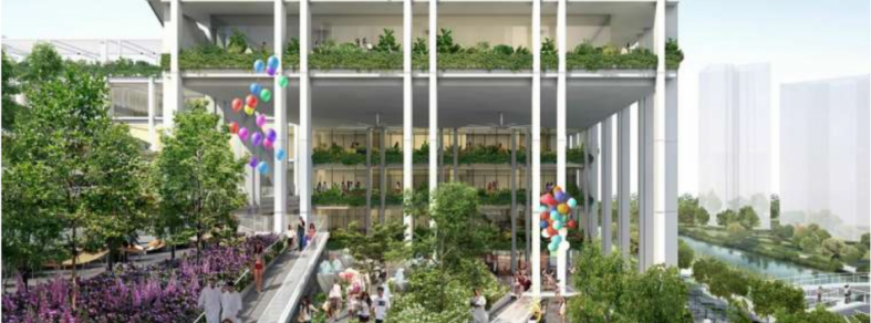 Next generation HDB neighbourhood hub