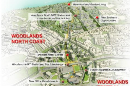 Live in the North Singapore: Woodlands