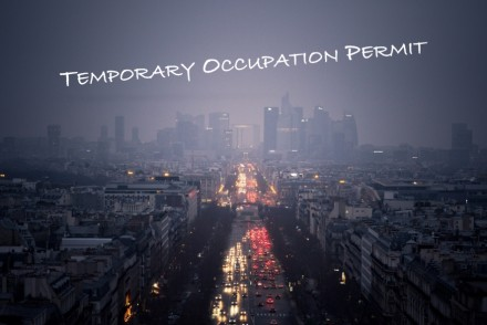 TOP Temporary Occupation Permit