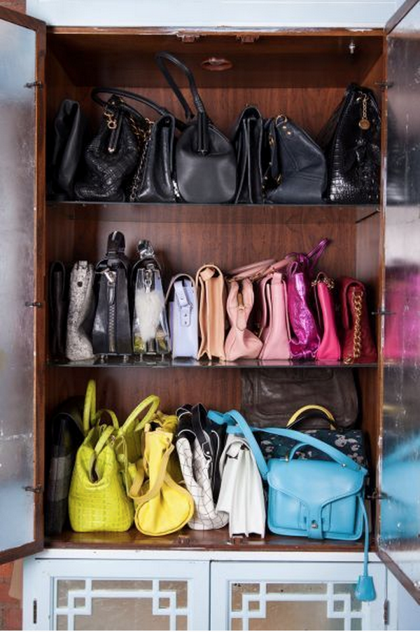 From Designer Bags To Skinny Purses, These Prized Possessions Will Have A  Space To Call Their Own With These Clever Storage Ideas.