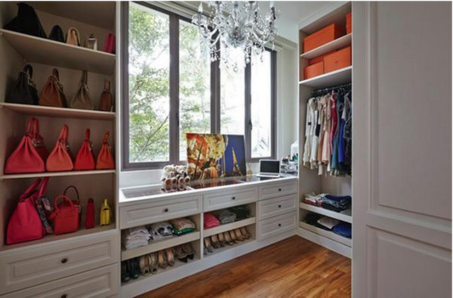 closet storage ideas - 14 Practical Storage Solutions for Your Bags