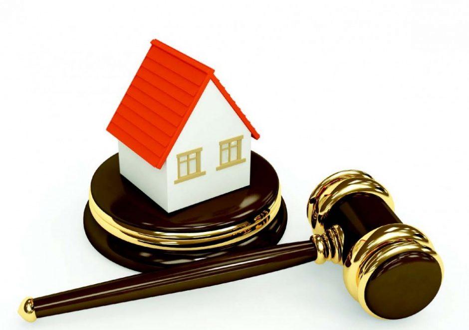 House on Auction Gavel