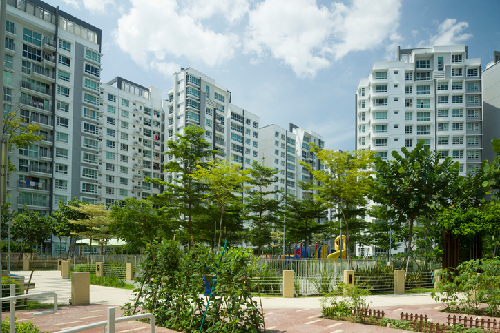 Punggol New Town Temporary Occupation Permit