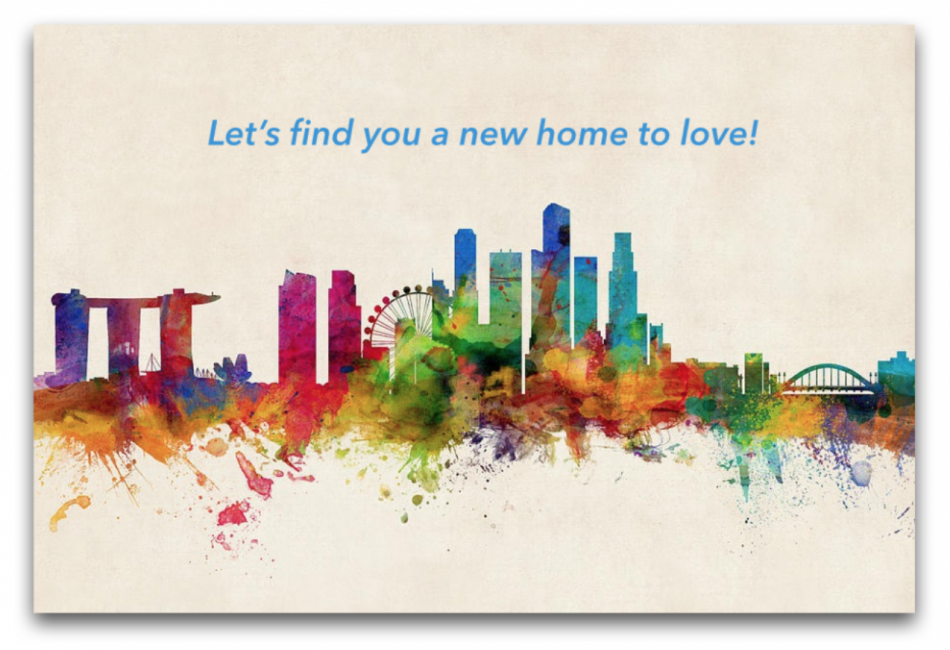 Finding a rental home need not be difficult for 1st time Singapore expats!
