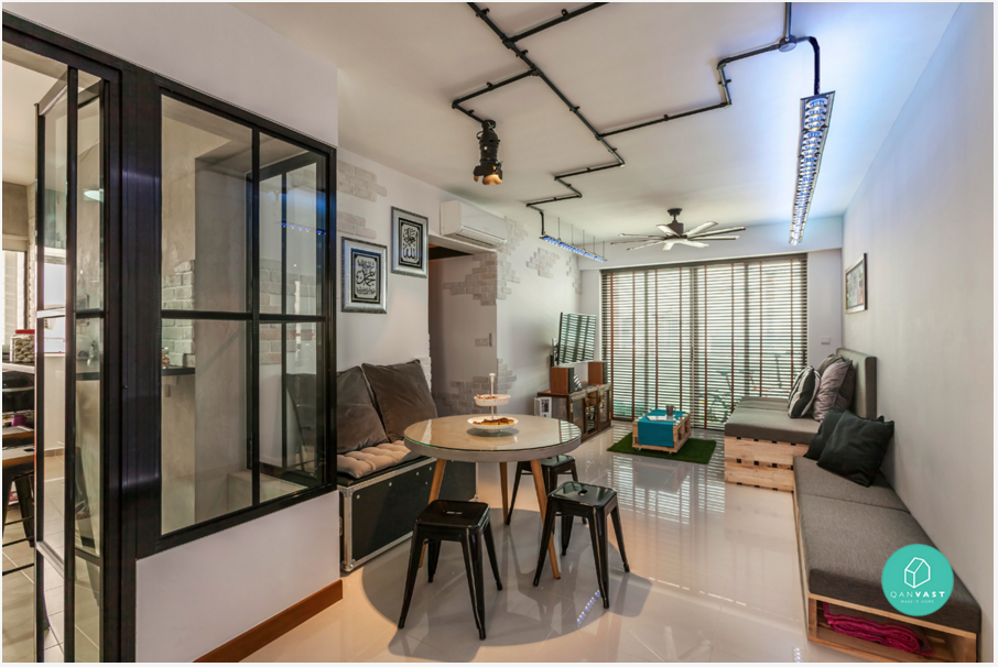 6 brilliant 4 room hdb ideas for your new home for Interior design for 5 room hdb flat