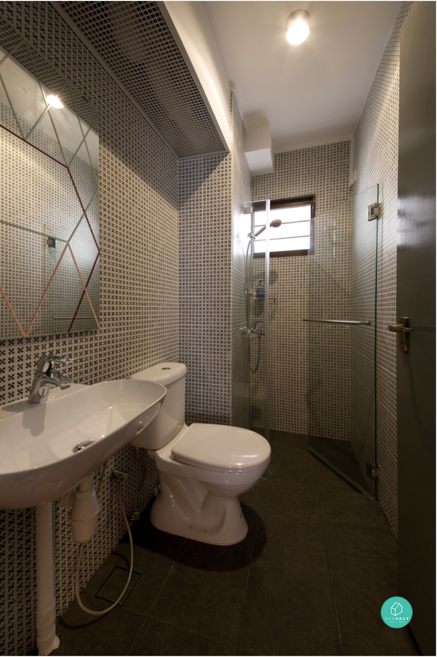 Hdb 3 room toilet design for Latest bathroom interior