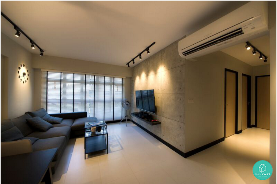 7 interior designs that are disarmingly simple yet for Interior design singapore hdb 5 room flat