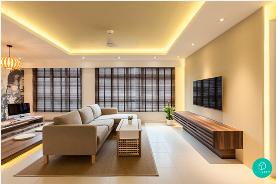 7 interior designs that are disarmingly simple yet for Modern zen interior design living room