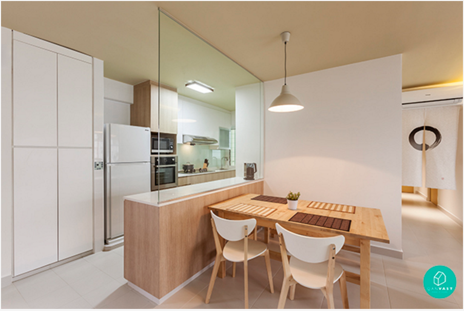 7 interior designs that are disarmingly simple yet for Hdb minimalist interior design