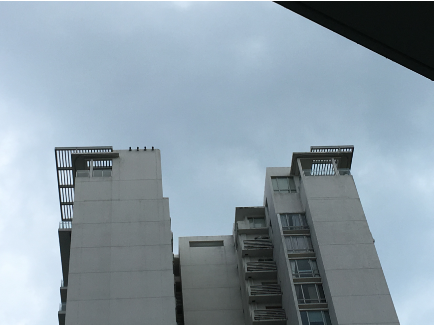 Rooftop disaster Sea View Condo