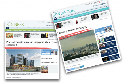 property market up or down