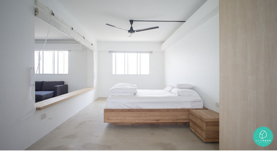 10 mindblowing airbnb worthy homes in singapore for Hdb minimalist interior design