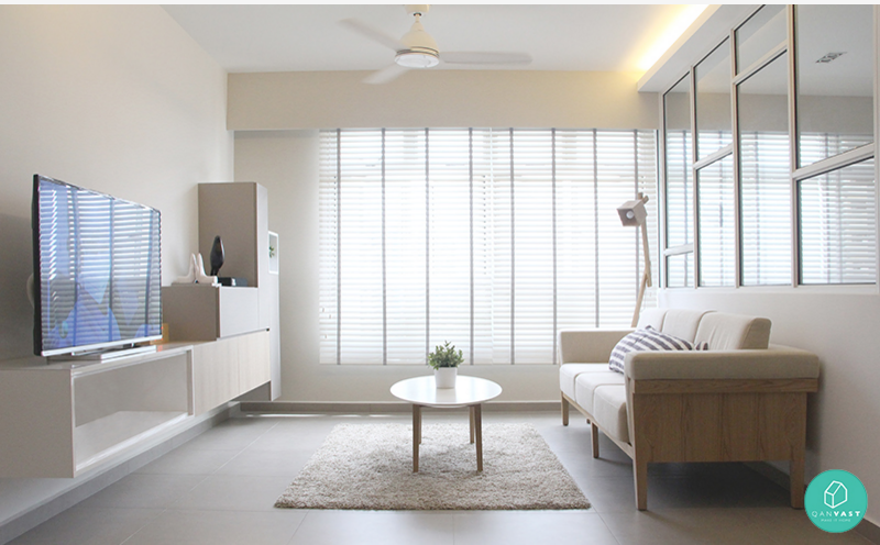 The scandinavian design is giving in to brighter and for Hdb minimalist interior design