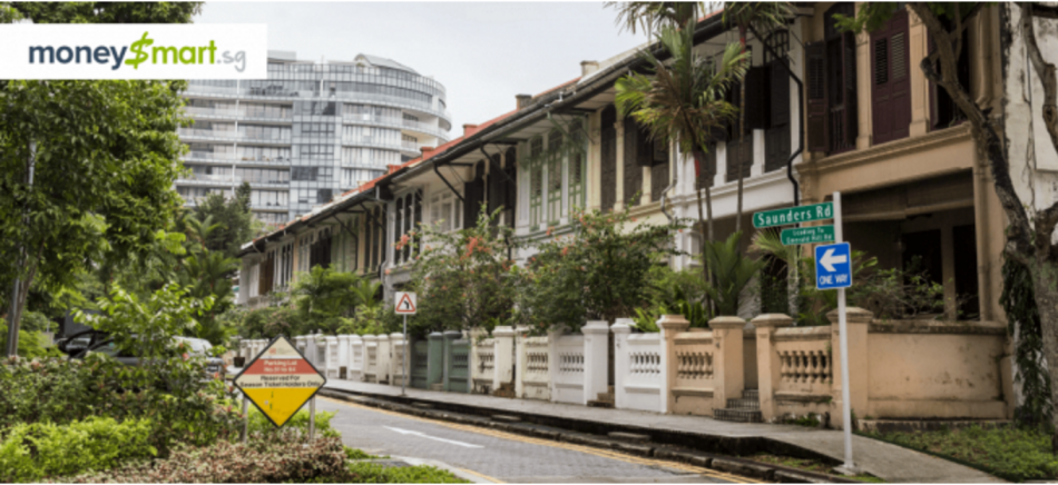 property in singapore along street