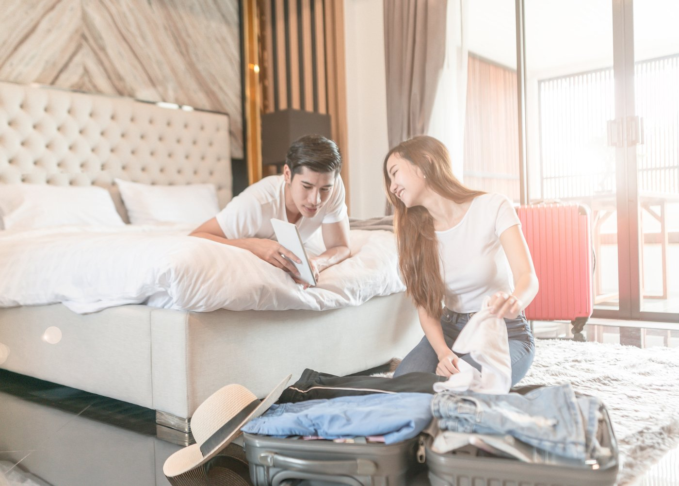 couples can consider staycations as one of the affordable living arrangements