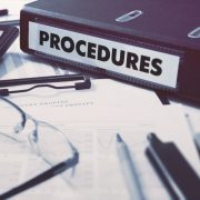 "A file labelled ""procedures"""
