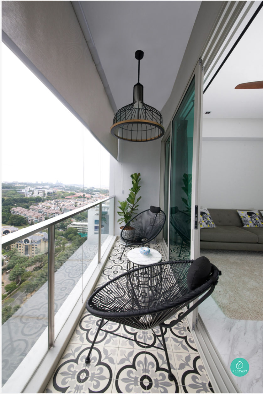 10 home space hack making small spaces look bigger for Balcony ideas singapore