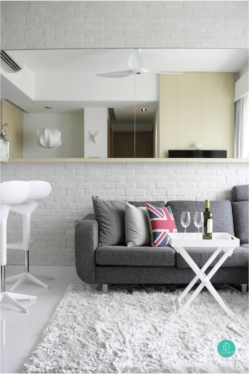 Small Apartment Design Singapore 10 home space hack - making small spaces look bigger