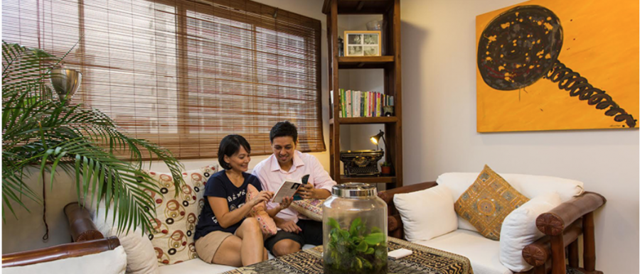 House Tour Bamm And Christina S Balinese Style Hdb Home